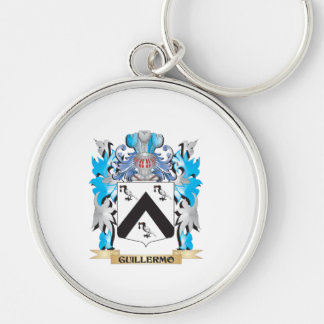 Guillermo Coat of Arms - Family Crest Key Chains