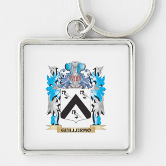 Guillermo Coat of Arms - Family Crest Keychain