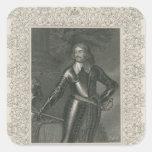 Guillermo Craven, 1r conde de Craven Calcomania Cuadradas Personalizada