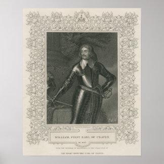 Guillermo Craven, 1r conde de Craven Póster