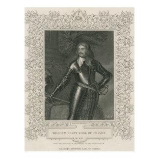 Guillermo Craven, 1r conde de Craven Tarjeta Postal