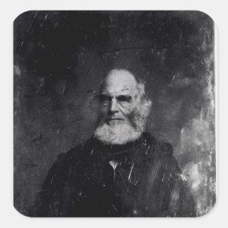 Guillermo Cullen Bryant c.1851-60 Pegatinas Cuadradases Personalizadas