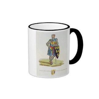 Guillermo de Longuespee, 3ro conde de Salisbury Taza De Dos Colores