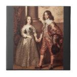 Guillermo del naranja con su novia futura - Van Dy Azulejo Ceramica