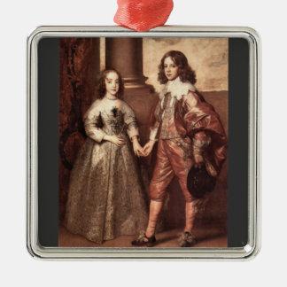 Guillermo del naranja con su novia futura - Van Dy Adorno De Navidad