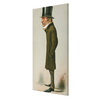 Guillermo Ewart Gladstone Impresión En Lienzo