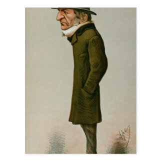 Guillermo Ewart Gladstone Tarjeta Postal