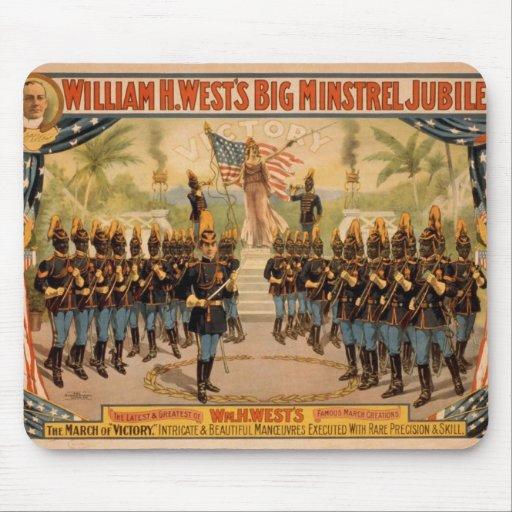 """Guillermo H. West, """"el marzo Th del vintage de la  Tapetes De Raton"""