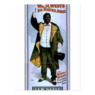 Guillermo H. West, jubileo grande del trovador, 'L Postal