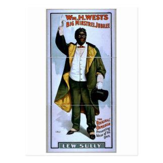 Guillermo H. West, jubileo grande del trovador, 'L Tarjeta Postal