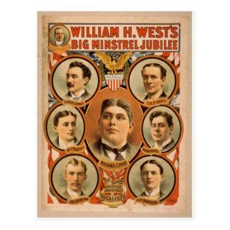 Guillermo H West Tarjetas Postales