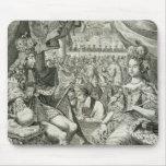 Guillermo III (1650-1702) y reyes de Maria II (166 Alfombrillas De Ratón