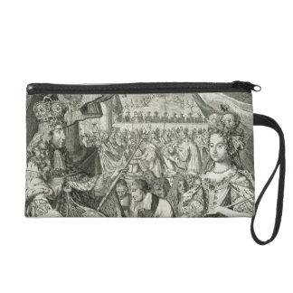 Guillermo III (1650-1702) y reyes de Maria II (166
