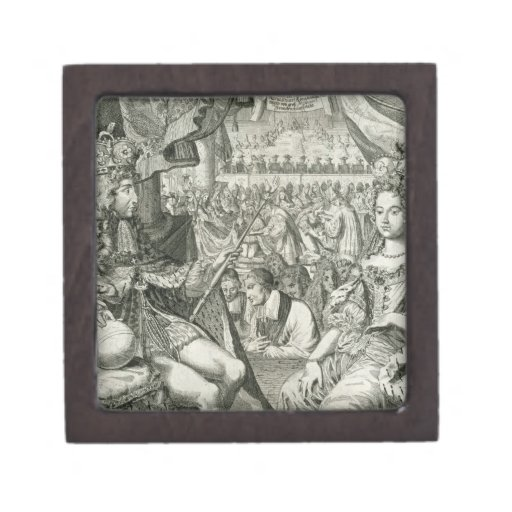 Guillermo III (1650-1702) y reyes de Maria II (166 Cajas De Recuerdo De Calidad