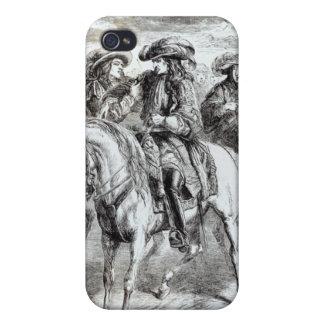 Guillermo III herido en la batalla del iPhone 4/4S Fundas