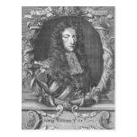 Guillermo III Stadholder y rey de Inglaterra Tarjeta Postal
