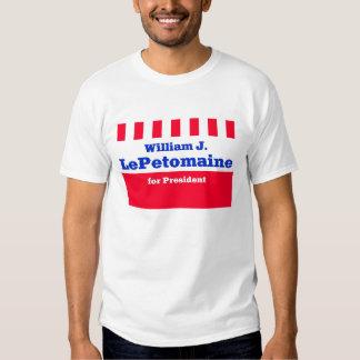Guillermo J LePetomaine para el presidente Polera