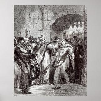 Guillermo Longchamp y Hugh de Pudsey Póster