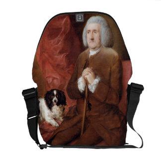 Guillermo Lowndes (1652-1724), interventor de su M Bolsas De Mensajeria
