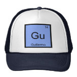 Guillermo  Name Chemistry Element Periodic Table Hat