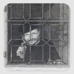 Guillermo Sommers, grabado por R. Clamp, 1794 Calcomania Cuadradas