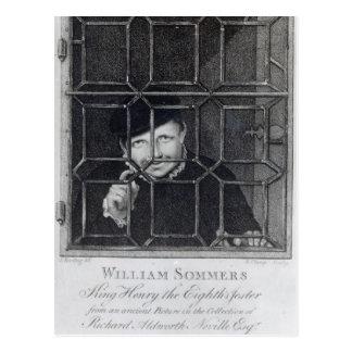 Guillermo Sommers, grabado por R. Clamp, 1794 Postales