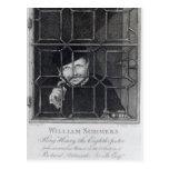 Guillermo Sommers, grabado por R. Clamp, 1794 Postal