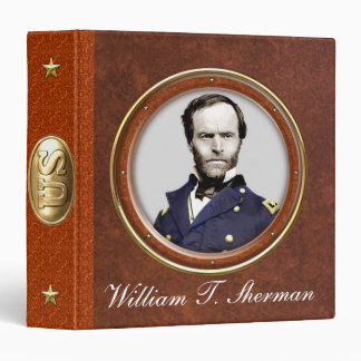 "Guillermo T. Sherman 1,5"" Carpeta 1 1/2"""