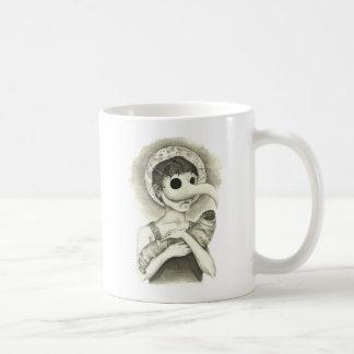 Guillermo trae la plaga taza de café