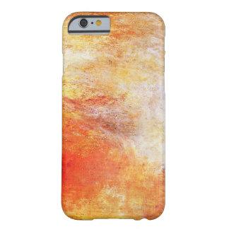 Guillermo Turner Sun que fija sobre un lago Funda Para iPhone 6 Barely There