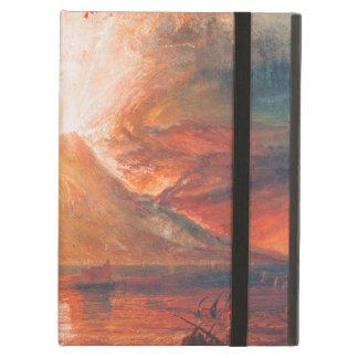 Guillermo Turner Vesuvio en arte del waterscape de