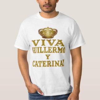 Guillermo y Caterina Boda Real Camisas y Mas Shirt