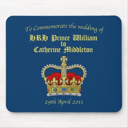 Guillermo y Catherine boda 29 de abril de 2011 rea Alfombrillas De Ratón