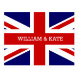 Guillermo y Catherine el | el boda real Tarjetas Postales