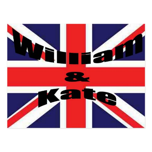 Guillermo y Kate Tarjetas Postales