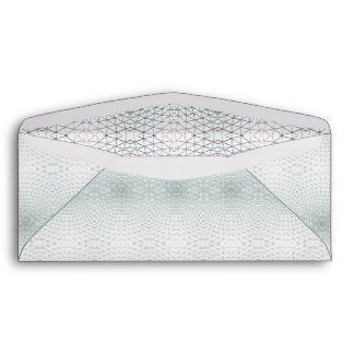 Guilloché Security Cheque Background Symmetry Envelope