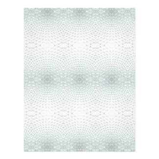 """Guilloché Security Cheque Background Symmetry 8.5"""" X 11"""" Flyer"""
