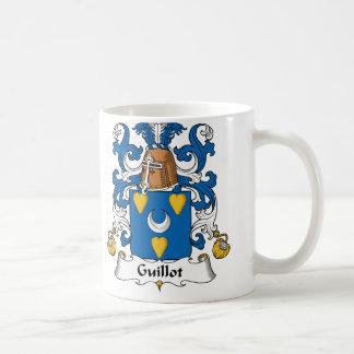 Guillot Family Crest Classic White Coffee Mug