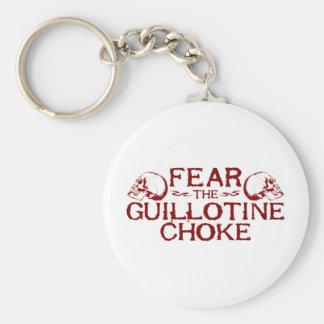 Guillotine Choke Keychain