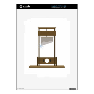 Guillotine Decal For The iPad 2