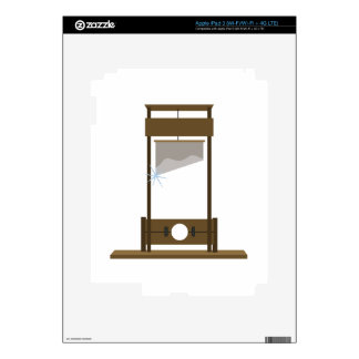 Guillotine Decals For iPad 3