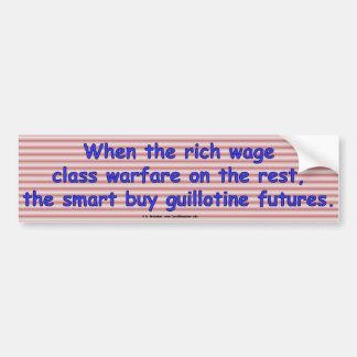 GuillotineFutures2 Bumper Sticker