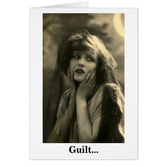 Guilt Card