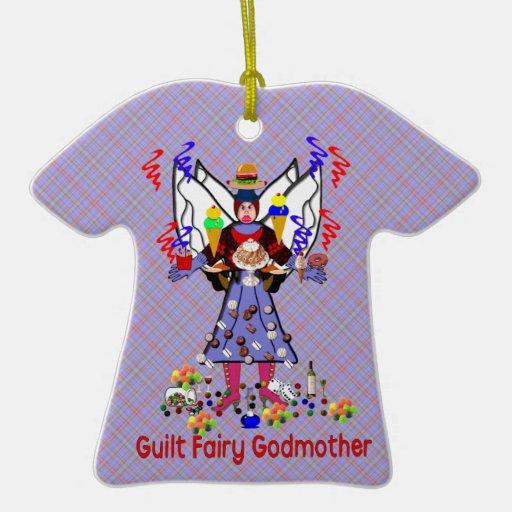 Guilt Fairy Godmother Christmas Tree Ornament