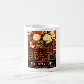 Guilt Free At Last Coffee Mugs