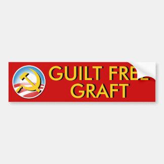 Guilt Free Graft Bumper Sticker