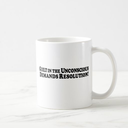 Guilt in the Unconscious - Basic Coffee Mug