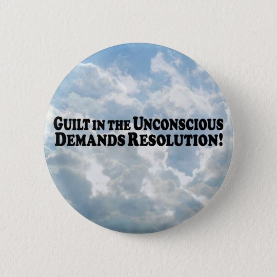 Guilt in the Unconscious - Basic Pinback Button