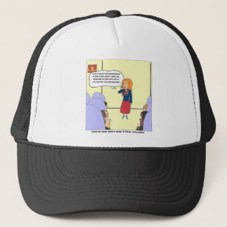 Guilt Trip Airlines Funny Carrtoon Gifts & Tees Trucker Hat
