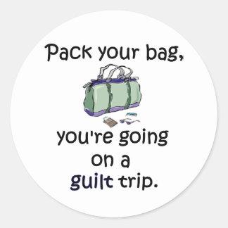 Guilt Trip Sticker